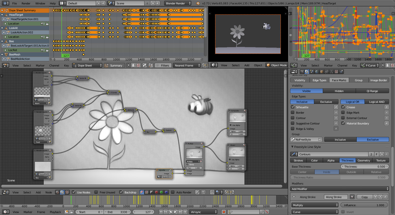 Funny interface of Blender.